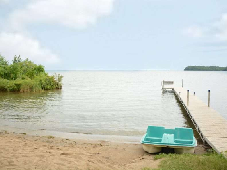 Pikedale Lodge Swimming Dock