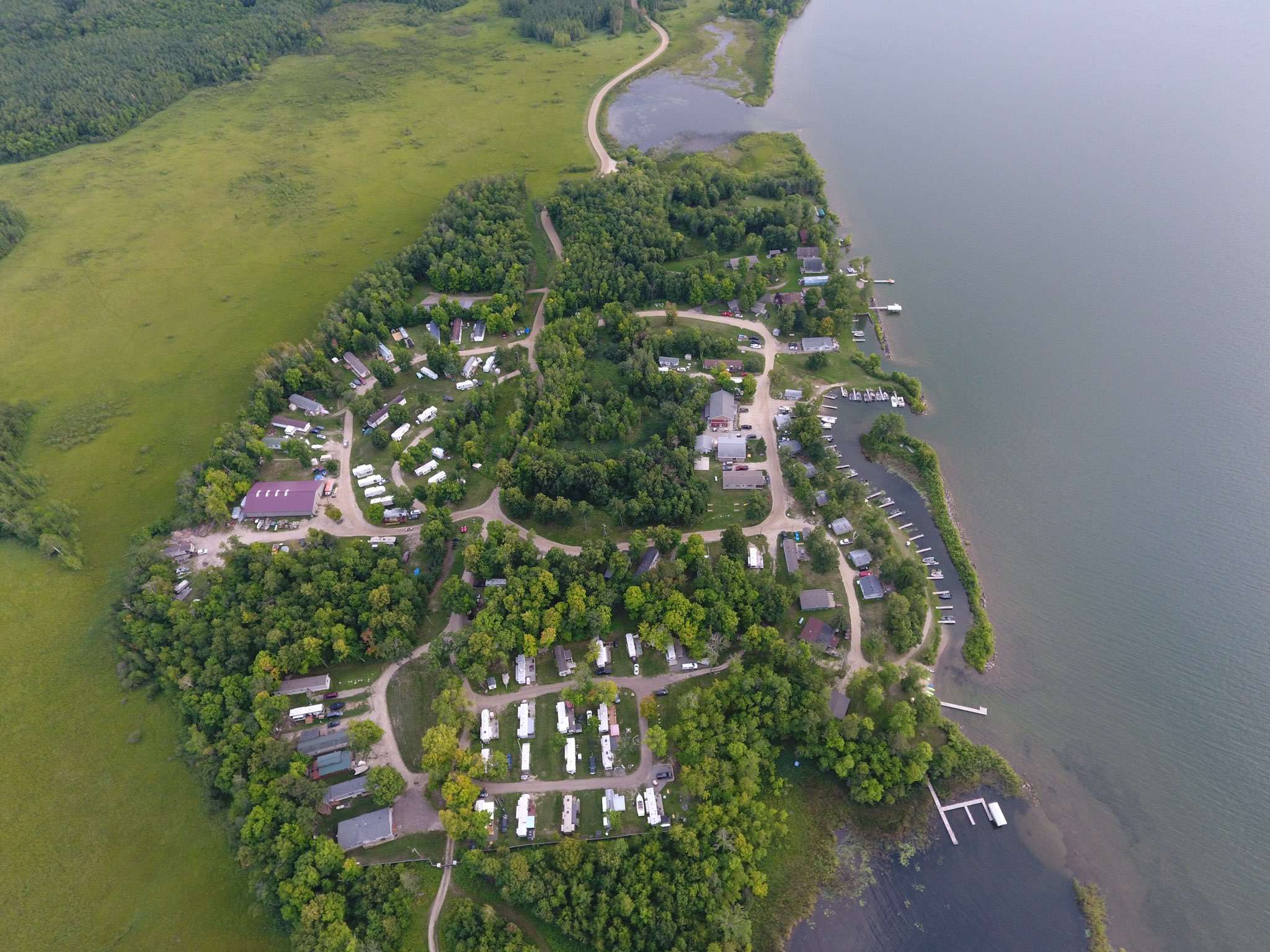 Pikedale Lodge & Resort Aerial View
